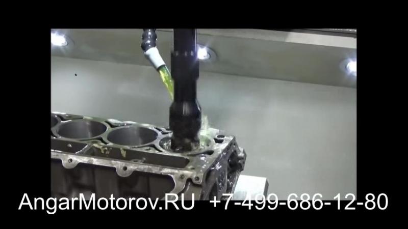 Ремонт Блока Цилиндров Двигателя Audi A4 2.7 TDI Шлифовка Расточка Опрессовка Сварка Гильзовка