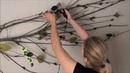 DIY Tree Branch Upcycled Wall Art Decor