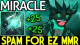 Miracle- Outworld Devourer Spam For Easy MMR 7.13 Dota 2