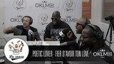 POETIC LOVER - Fier d'avoir ton love (Live) - #LaSauce sur OKLM Radio 010618 OKLM TV