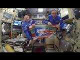Космонавты желают успехов «Ак Барсу»