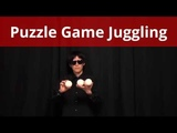 Puzzle Game Juggling 3 balls easy tricks &ampl 9 patterns by Pazule(Japanese juggler)