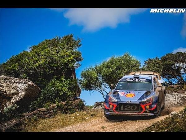 Лучшие моменты Ралли Италии 2018 от Michelin Motorsport