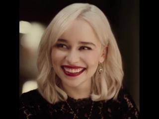 Эмилия Кларк в рекламе парфюма Dolce & Gabbana