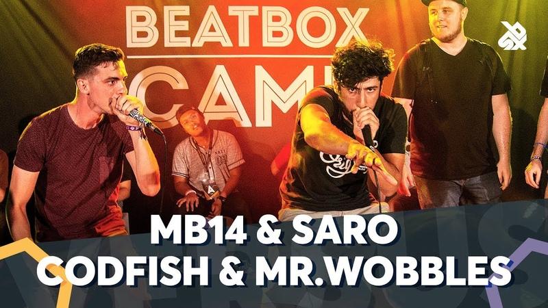 MB14 SARO VS CODFISH MR.WOBBLES | WBC TAG TEAM BATTLE | Final