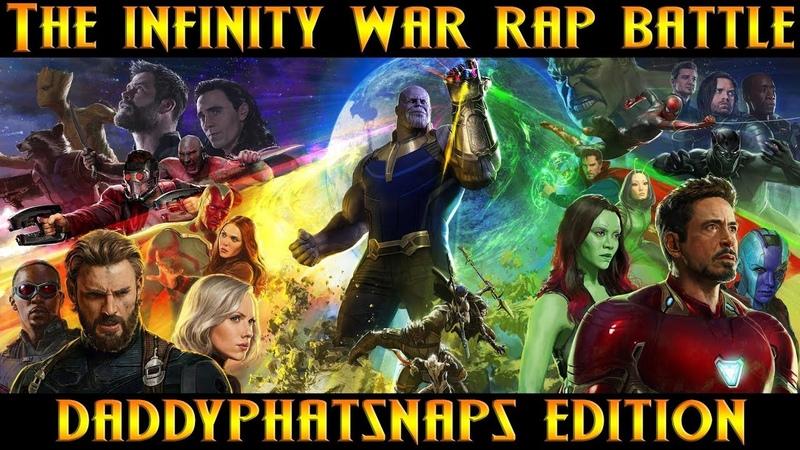 Avengers Infinity War Rap Battle ft Nerdout, Dan Bull, JT Music More (Thanos) | Daddyphatsnaps
