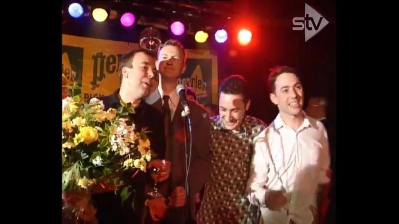 Лига Джентльменов на вручении Perrier Awards (1997, Edinburgh Festival)