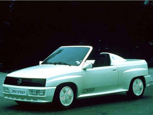 Вехи истории : 1982 Opel Corsa Spider