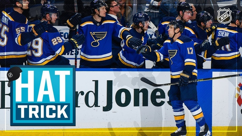 Jaden Schwartz tallies fourth career hatty to lead Blues rout