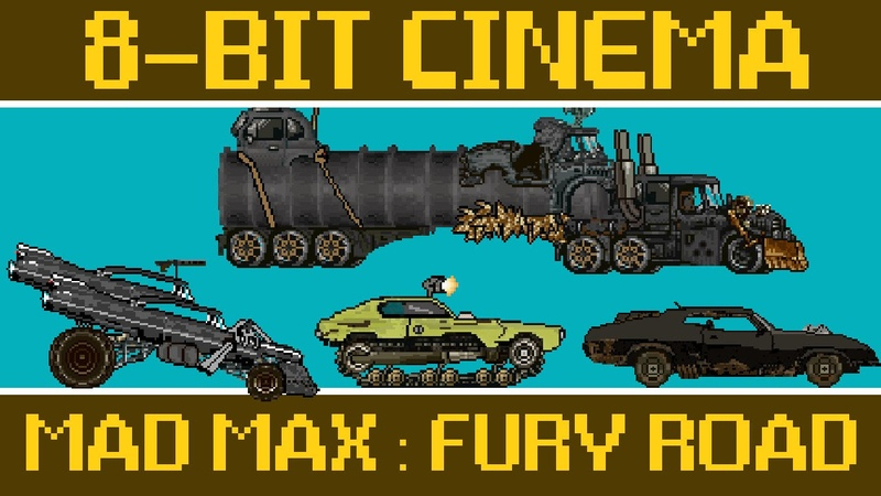 Mad Max Fury Road - 8 Bit Cinema