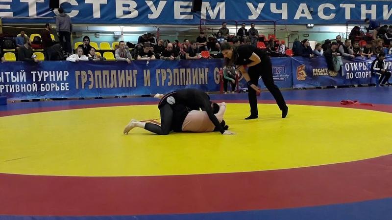 Кровью и Потом 22 28 10 2018 62 No Gi Финал Санаева VS Дегтярева
