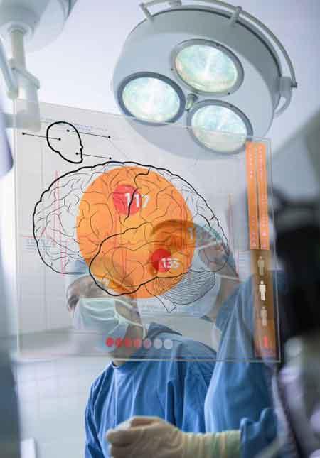 Ствол мозга расположен у основания мозга и физически связывает его со спинным мозгом.