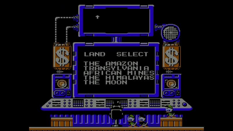Duck Tales прохождение (NES,Денди, Famicom)