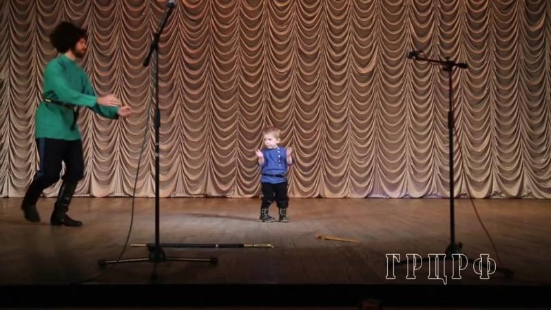 Степан и Елисей Нестеровы. I Всероссийский фестиваль русского танца Перепляс