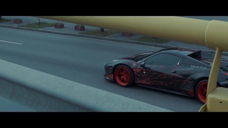 Night Lovell - Jamies Sin - Ferrari 458 Liberty Walk Showtime