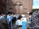 20 июля 2007 года Освящение и водружение креста на купол храма Иконы Казанской в Казанском женском монастыре г Рязани