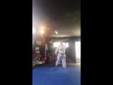 Practicing Pinan Katas Shito Ryu