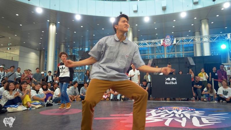 SANTA vs. 風花 (FUKA) Top 16 | Red Bull Dance Your Style TOKYO | YAK BATTLES