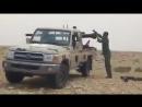 الوادي_الحمر.. كما ذكرت لكم سابقاً .. فيديو لتفجير السيارة المفخخة التي تركها الداعشي عند ام_القنديل.. الله يبارك ضربة وحدة