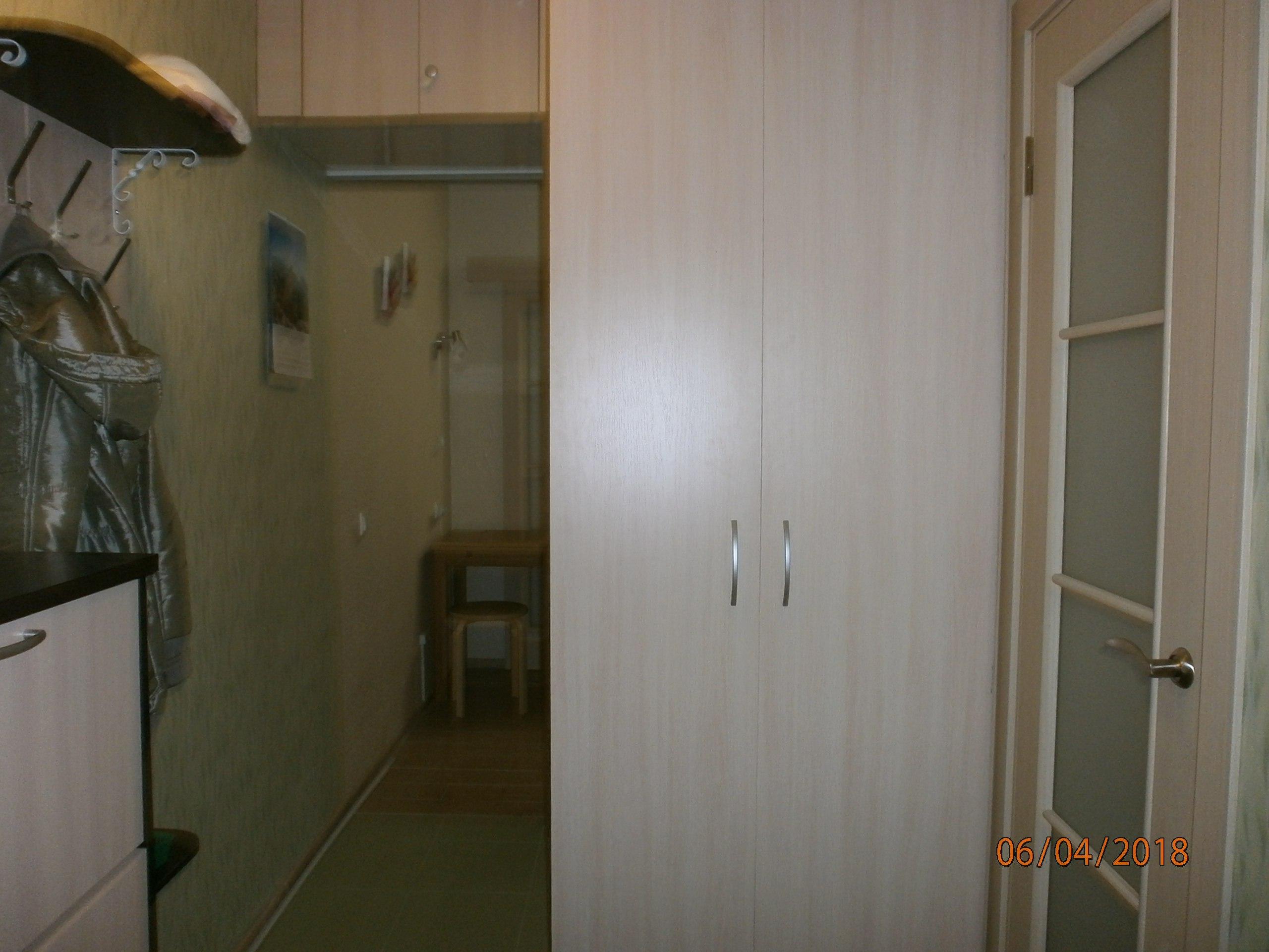 Студия 26 м2 + балкон 3.