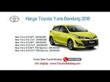 Harga Toyota Yaris 2018 Bandung dan Jawa Barat  081221120026