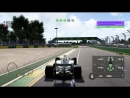 F1 2017 9 сезон 1 этап Австралия. Свободная практика 2