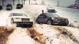 БИТВА AUDI Q7 и ALLROAD против ХВАЛЕНЫХ BMW X3 и MERCEDES E-classe