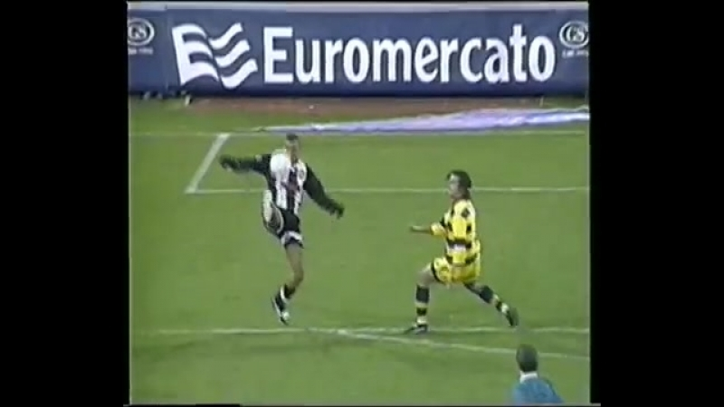 Марсио Аморозо (Удинезе) - роскошный гол в ворота Пармы в сезоне 1998/99
