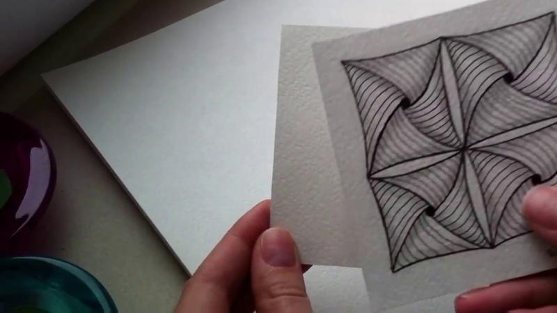Вводный урок по рисованию. (Зентангл. Дудлинг. Раскраски антистресс.)