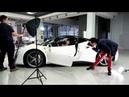 Backstage Ferrari 488 GTB