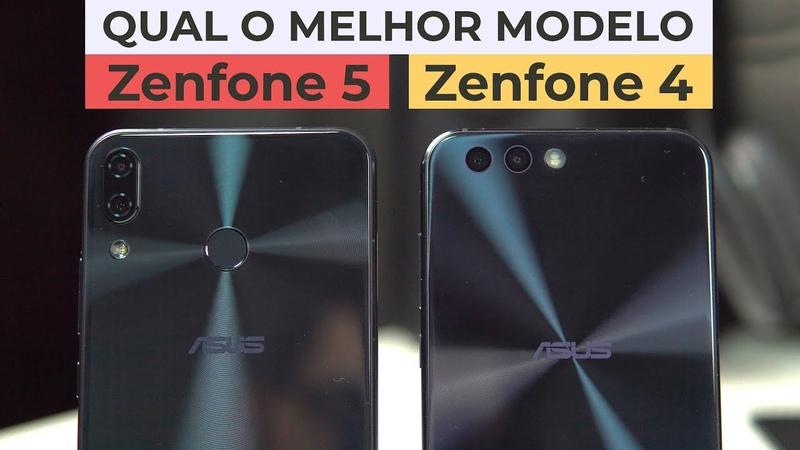 Zenfone 4 vs Zenfone 5 | comparativo!!