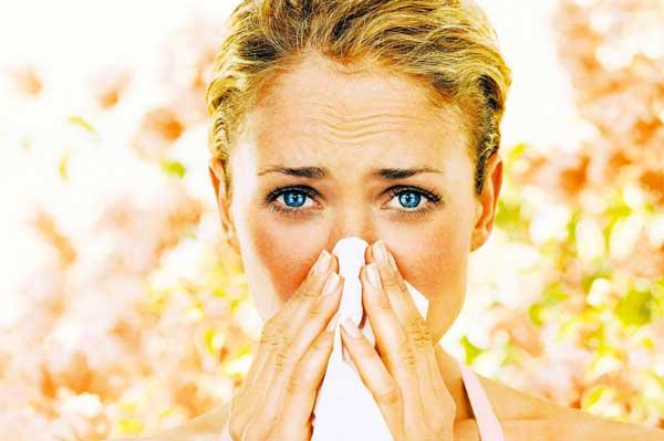 Период весенней аллергии
