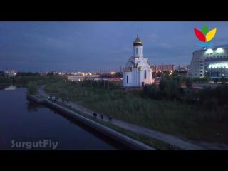 Фестиваль водных фонариков  Сургут 2018