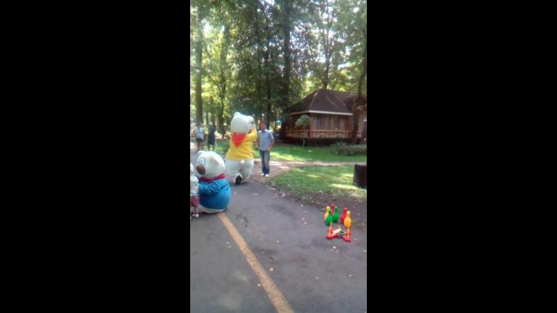Ведмеді у парках :)