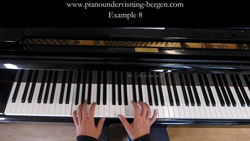 8 Exercises for Piano Comping Techniques - Pop, Jazz, Latin, RB │Jazz Piano Lessons 14