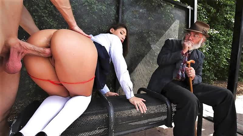 ЭКСКЛЮЗИВ ABELLA DANGER HOOTERS PUBLIC SEX, BUS STOP ( Full, Porn, HD, big ass, big tits, oral,