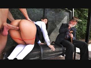 {эксклюзив} abella danger [hooters] public sex, bus stop (full, porn, hd, big ass, big tits, oral, blowjob, sex, порно, секс)