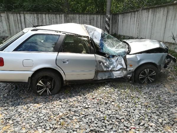 """Водитель """"Ауди"""" в результате ДТП в д.Страдечь получил тяжкие травмы"""