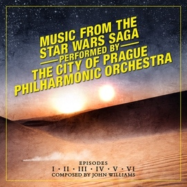The City Of Prague Philharmonic Orchestra альбом Music from the Star Wars Saga