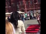 100 Россия. Елизавета Родина. Москва. Манежная площадь