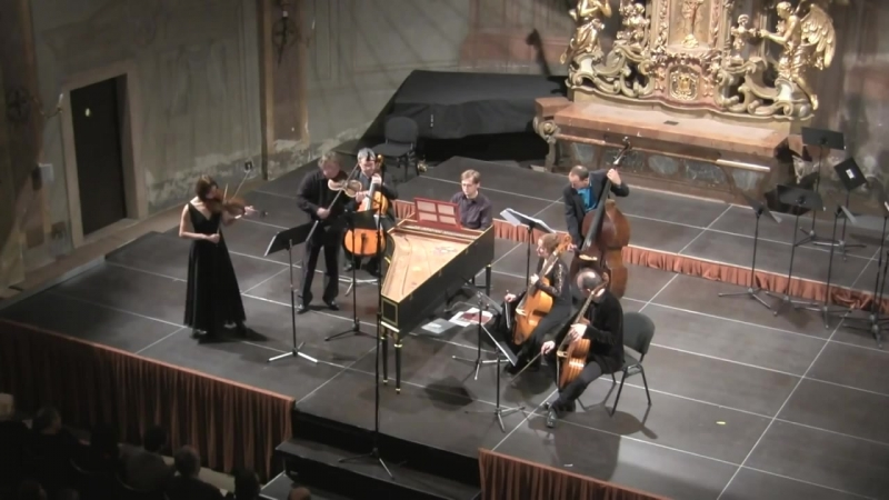 1051 J. S. Bach - Brandenburg Concerto No.6 in B-flat major, BWV 1051 - Capella da Camera Praga
