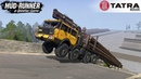 Spintires: MudRunner - TATRA 813 KOLOS KINGS OFF ROAD Endurance Tests under Extreme Conditions