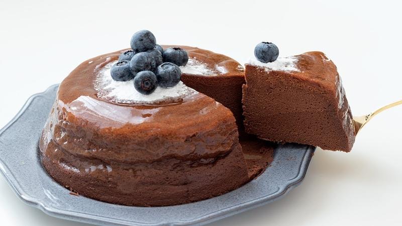 Шоколадный чизкейк フロマージュ・ガトーショコラの作り方 Cheesecake au chocolat HidaMari Cooking
