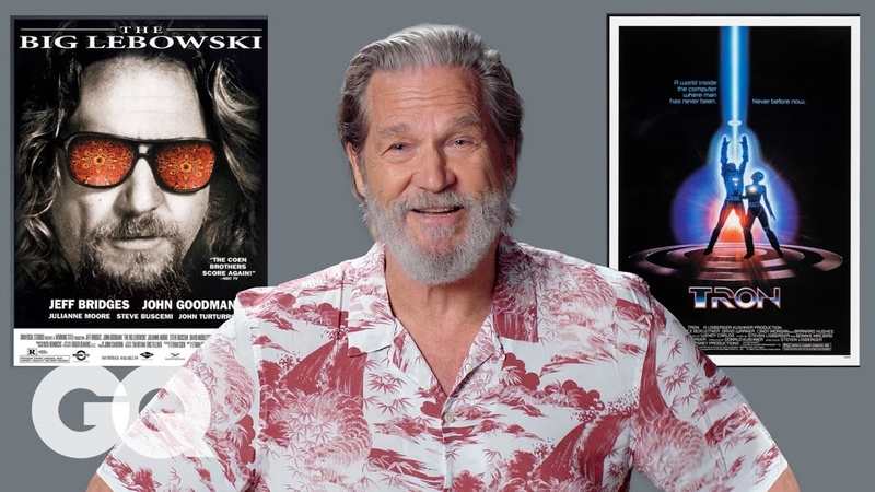 Jeff Bridges Breaks Down His Most Iconic Characters | GQ