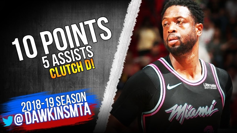 Dwyane Wade Full Highlights 2019.01.12 Heat vs Grizzlies - 10 Pts, 5 Asts, CLUTCH D! | FreeDawkins