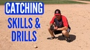 Baseball Catching Skills Drills for Youth Players (FOOTWORK!)