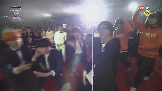 [160114 25th SMA] MFBTY - Buckubucku (부끄부끄) (feat.Rap Monster of BTS)