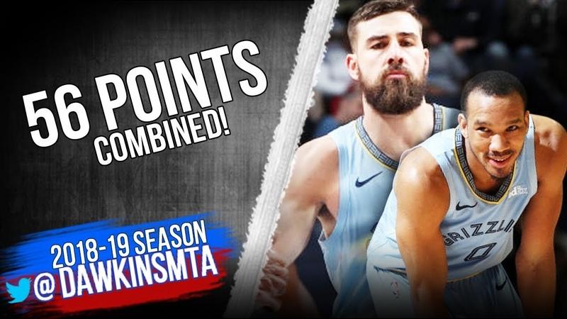 Avery Bradley Jonas Valanciunas 56 Pts 2019.02.12 vs Spurs - AB With 33! | FreeDawkins