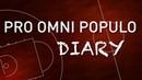 P.O.P. Diary. 16 week. Saturday