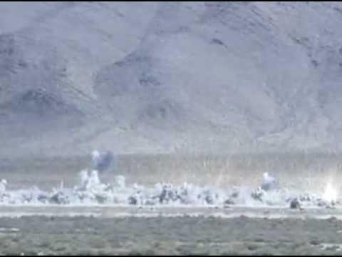 CBU-87B Combined Effects Munition (CEM) Live Fire